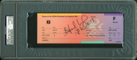 Evander Holyfield Signed 1984 Summer Olympics Boxing Ticket (PSA Encapsulated) at PristineAuction.com