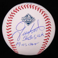 "Gerardo Parra Signed 2019 World Series Baseball Inscribed ""Baby Shark"" & ""19 WS Champs"" (Beckett COA) at PristineAuction.com"