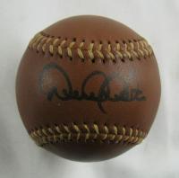Derek Jeter Signed Leather Baseball (JSA LOA) at PristineAuction.com