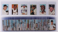 1964 Topps Giants Complete Set of (60) Baseball Cards with #25 Mickey Mantle, #49 Hank Aaron, #51 Willie Mays, #3 Sandy Koufax at PristineAuction.com