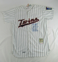 Rod Carew Signed Twins Jersey with Multiple Career Highlight Stat Inscriptions (JSA COA) at PristineAuction.com