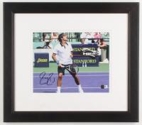 Roger Federer Signed 14.75x16.75 Custom Framed Photo Display (JSA COA) at PristineAuction.com