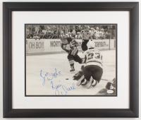 "Brett Hull Signed Blues 17.5x20.5 Custom Framed Photo Display Inscribed ""Best Wishes"" (JSA COA) at PristineAuction.com"