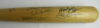 Louisville Slugger 3000 Hits Commemorative Baseball Bat Signed by (17) with Hank Aaron, Willie Mays, Cal Ripken Jr. (JSA LOA) at PristineAuction.com