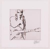 "Joe Petruccio Signed Elvis Presley ""Unfinished Symphony"" 6x10 Limited Edition Giclee #1/25 (PA LOA & Petruccio COA) at PristineAuction.com"