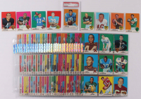1969 Topps Complete Set of (264) Football Cards with #25 Johnny Unitas (PSA 6), #120 Larry Csonka RC, #75 Don Meredith, #51 Gale Sayers, #100 Joe Namath at PristineAuction.com