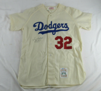"Sandy Koufax Signed Dodgers Jersey Inscribed ""HOF 72"" & ""4 No-Hit"" (JSA LOA) at PristineAuction.com"