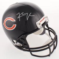 Khalil Mack Signed Bears Full-Size Helmet (Beckett COA) at PristineAuction.com