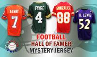 Schwartz Sports Football Hall of Famer Signed Mystery Box Football Jersey - Series 6 (Limited to 100) at PristineAuction.com