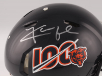 Khalil Mack Signed Bears 100th Season Anniversary Logo Full-Size Authentic On-Field Speed Helmet (Beckett COA) at PristineAuction.com