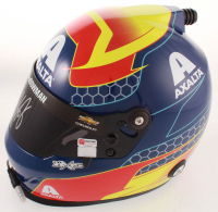 "Alex Bowman Signed NASCAR Axalta ""First Win"" Full-Size Helmet (Hendrick COA & PA COA) at PristineAuction.com"