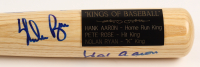 "Hank Aaron, Nolan Ryan & Pete Rose Signed ""Kings of Baseball"" Adirondack Baseball Bat (JSA LOA) at PristineAuction.com"