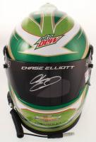 Chase Elliott Signed NASCAR Mountain Dew Full-Size Helmet (Elliott COA & PA COA) at PristineAuction.com
