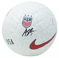 Alyssa Naeher Signed Team USA Logo Nike Soccer Ball (JSA COA) at PristineAuction.com