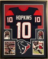 DeAndre Hopkins Signed 34x42 Custom Framed Jersey (JSA COA) at PristineAuction.com