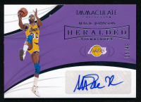 Magic Johnson 2018-19 Immaculate Collection Heralded Signatures #22 at PristineAuction.com