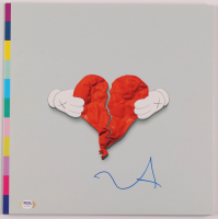 "Kanye West Signed ""808s & HeartBreak"" Vinyl Record Album (PSA COA) at PristineAuction.com"