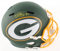 Jordy Nelson Signed Packers Full-Size AMP Alternate Speed Helmet (Beckett COA) at PristineAuction.com