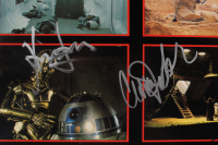 """""""Star Wars Soundtrack"""" Vinyl Record Album Cover Signed by (4) with Mark Hamill, George Lucas, Carrie Fisher & Harrison Ford (Beckett LOA) at PristineAuction.com"""