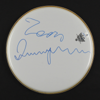 """Luciano Pavarotti Signed 12"""" Drumhead (Beckett COA) at PristineAuction.com"""
