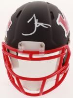 Tyreek Hill Signed Chiefs AMP Alternate Speed Mini Helmet (JSA COA) at PristineAuction.com