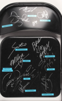 Black Metal Folding Chair Signed by (11) with Damien Sandow, Santino Marella, Brodus Clay, Mick Foley, Vicki Guerero (JSA LOA) at PristineAuction.com