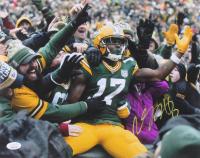 Davante Adams Signed Packers 11x14 Photo (JSA COA) at PristineAuction.com