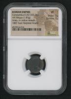 Constantius II AD 337-361 - Roman Empire, AR Siliqua Silver Coin, Arles Mint (NGC VF) at PristineAuction.com