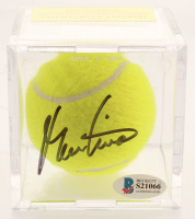 Martina Navratilova Signed 1994 Commemorative Tennis Ball with Display Case (Beckett COA) at PristineAuction.com