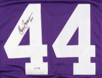 Chuck Foreman Signed Jersey (PSA COA) at PristineAuction.com