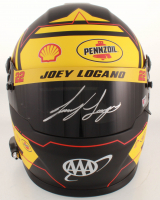 Joey Logano Signed NASCAR Pennzoil Full-Size Helmet (PA COA) (Imperfect) at PristineAuction.com