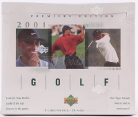 2001 Upper Deck Golf Hobby Box at PristineAuction.com
