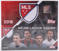 2018 Topps Stadium Club MLS Soccer 24ct Retail Box at PristineAuction.com