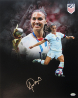 Alex Morgan Signed Team USA 16x20 Photo (JSA COA) at PristineAuction.com