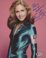 """Erin Gray Signed """"Buck Rogers In The 25th Century"""" 8x10 Photo Inscribed """"Peace & Love"""" (Beckett COA) at PristineAuction.com"""