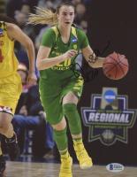 Sabrina Ionescu Signed Oregon Ducks 8x10 Photo (Beckett COA) at PristineAuction.com
