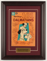 "Vintage 1961 Walt Disney's ""101 Dalmatians"" Issue #1183 Dell 13.5x17.5 Custom Framed Comic Book at PristineAuction.com"