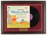 "Walt Disney's ""Winnie-The-Pooh"" 18.5x24.5 Custom Framed 1967 Original Disney LP Vinyl Record Album Display at PristineAuction.com"