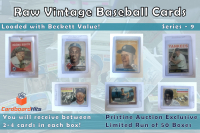 Cardboard Hits Presents Vintage Card Mystery Box Series 9 at PristineAuction.com