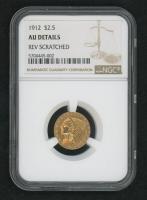 1912 Indian Head Quarter Eagle Gold Coin (NGC AU Details) at PristineAuction.com