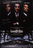 "Henry Hill Signed ""Goodfellas"" 27x40 Movie Poster Inscribed ""Goodfella"" (PSA COA) at PristineAuction.com"