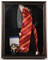 "Daniel Radcliffe Signed ""Harry Potter"" 12.5x15.5x2.5 Custom Shadowbox Tie Display (PSA COA) at PristineAuction.com"