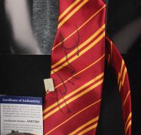 "Daniel Radcliffe Signed ""Harry Potter"" 12.5x15.5x2.5 Custom Shadowbox Tie Display (PSA COA) at PristineAuction.com"