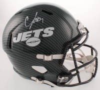C.J. Mosley Signed Jets Full-Size Hydro-Dipped Speed Helmet (JSA COA) at PristineAuction.com