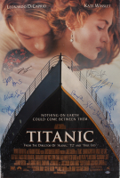 """Titanic"" 27x40 Movie Poster Photo Signed By (10) with Leonardo DeCaprio, Kate Winslet, James Cameron, Bill Paxton, Billy Zane (Beckett LOA) at PristineAuction.com"
