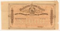 1864 $1000 One Thousand-Dollar Confederate States of America Richmond CSA Bond at PristineAuction.com