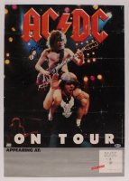 "Angus Young & Brian Johnson Signed ""AC/DC"" 18.5x26 Poster (Beckett LOA) at PristineAuction.com"