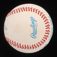 Mickey Mantle Signed OAL Baseball with Display Case (JSA LOA) at PristineAuction.com
