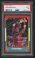 Charles Barkley 1986-87 Fleer #7 RC (PSA 9) at PristineAuction.com