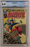 "1979 ""Daredevil"" Issue #161 Marvel Comic Book (CGC 6.0) at PristineAuction.com"